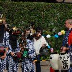 かっこ舞 山武市富田の祭り